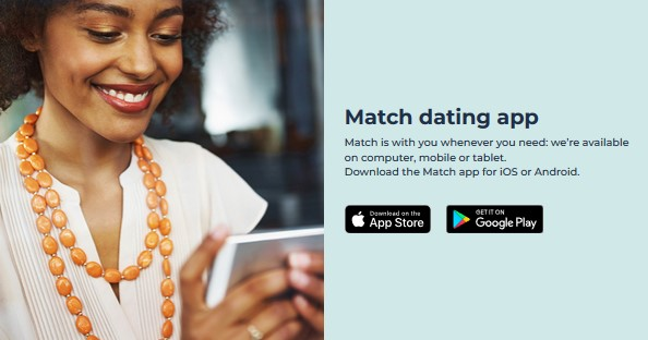 offer to install the Match dating app