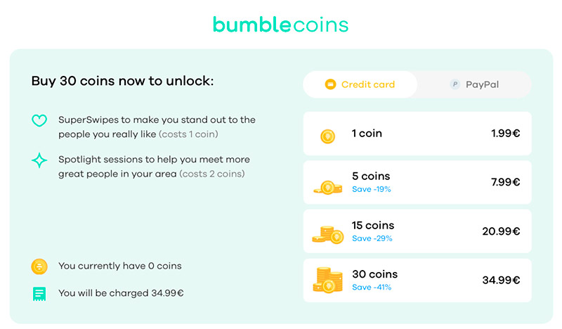 bumble-coins
